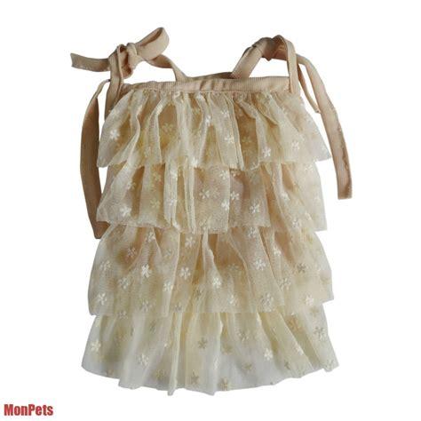 xxs clothes lace layered dress princess pet apparel clothes xxs xs s m l xl ebay