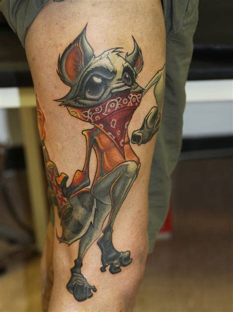 cartoon tattoo artist instagram racoon by jesse smith www instagram com upagainstthewall