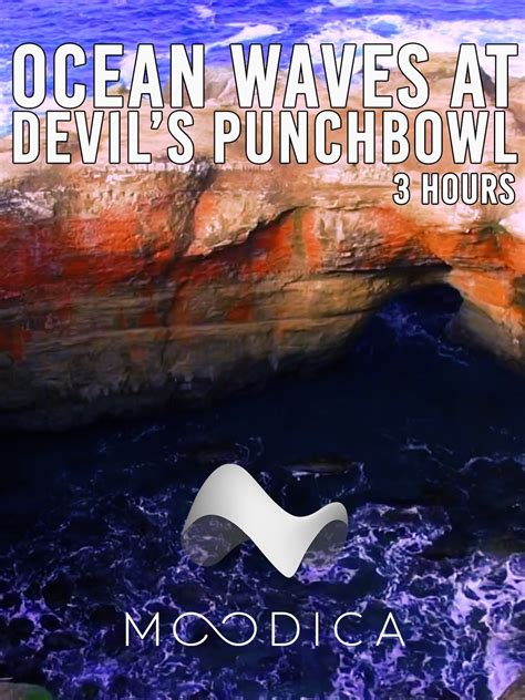 relaxing video of ocean waves at devils punch bowl youtube watch 3 hours ocean waves at devil s punchbowl on