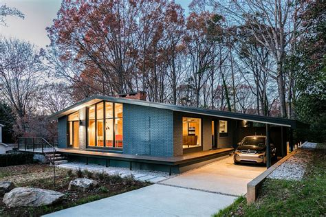 mid century modern homes a mid century modern recreation ocotea house renovation