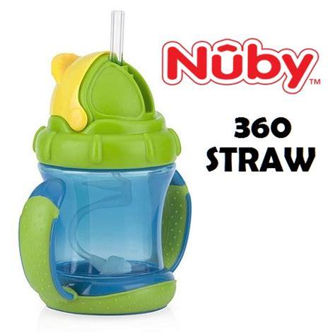 Nuby Combi Pacifier Atau Empeng nuby 360 straw flip n sip botol sedotan bebas posisi 360 derajat