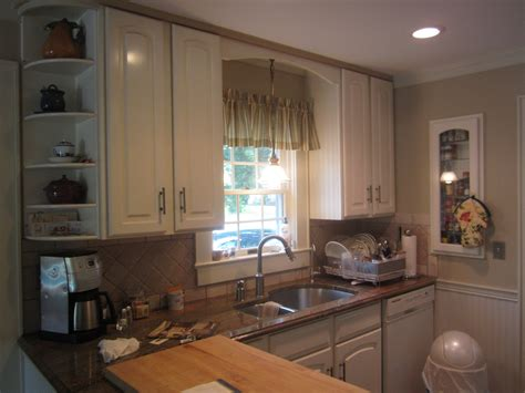 before and after photos of a superior custom kitchens