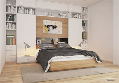 bedroom floating shelves and beachy wall painting feat bedroom shelf interior design ideas
