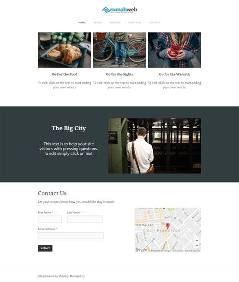 cara membuat web gratis langsung jadi cara membuat website weebly dari rumahweb rumahweb s