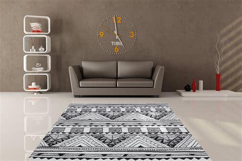 canapé noir et gris tapis gris noir et blanc id 233 es de d 233 coration int 233 rieure