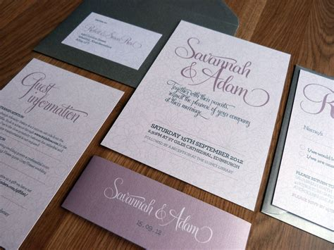 what in a wedding invitation suite wedding invitation suite bliss wedding range on luulla