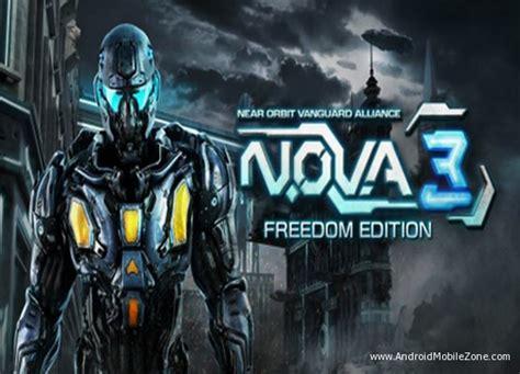 game android mega mod n o v a 3 freedom edition mod apk v1 0 1d mega mod