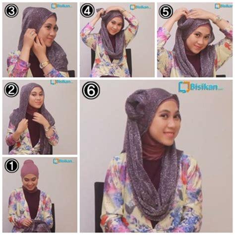 tutorial hijab pesta bisikan com tutorial hijab untuk pesta pernikahan 2