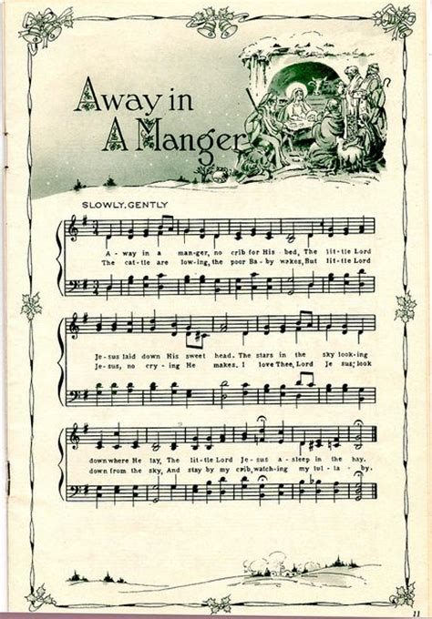 free printable vintage christmas sheet music my christmas decor styles free printable vintage