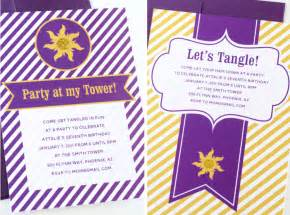 easy tangled invites paging supermom