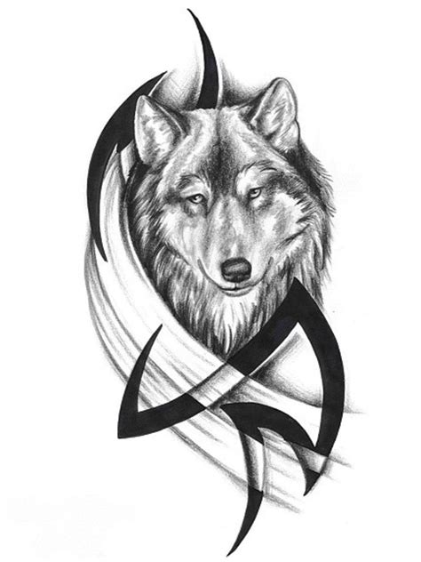 76 Meaningful Wolf Tattoo Designs Ideas For Back Black Wolf Designs