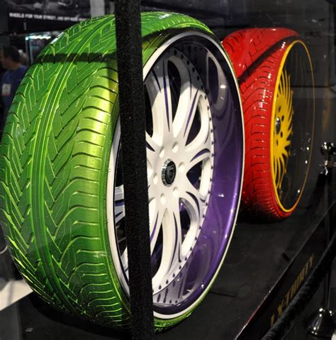 colored tires for cars just a car oddball colored tires and rims