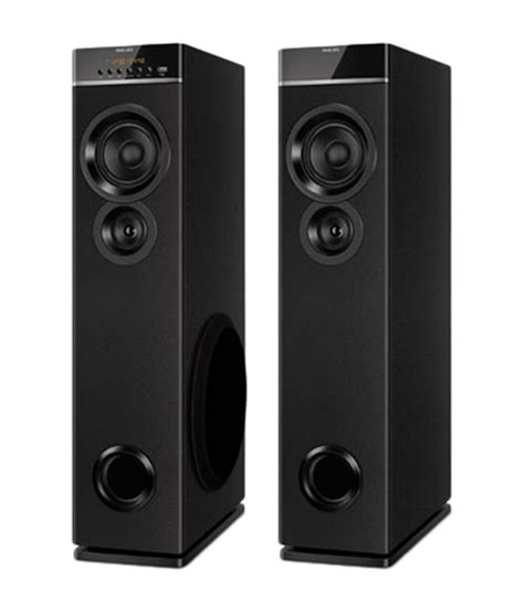 Design Home Theater Online by Buy Philips Spt 6660 94 Tower Speaker Online At Best Price