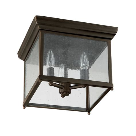 capital lighting 9546ob bronze 3 light outdoor flush