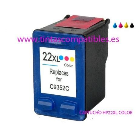 Tinta Hp 18 Color Original comprar cartucho de tinta compatible hp 22 xl hp 22xl