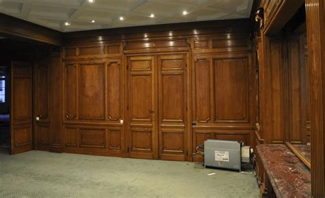 paneled rooms antique oak wood paneled room from the 19th century