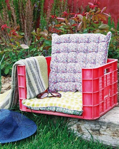 Backyard Practice Green Como Hacer Un Asiento Con Material Reciclado