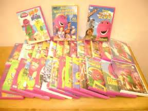Lot 31 barney dvds let s go to the beach farm zoo on vacation best