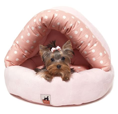 yorkie beds big news for little doggie fashionistas adorable new
