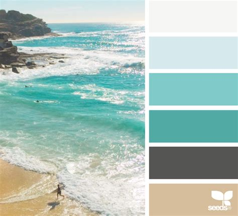 the sea colors color view design seeds