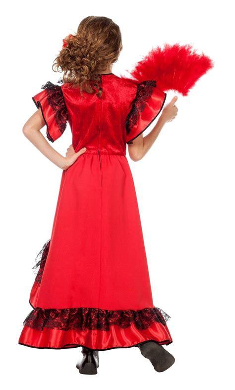 Robe Espagnole Flamenco Fille - robe espagnole fille v59356