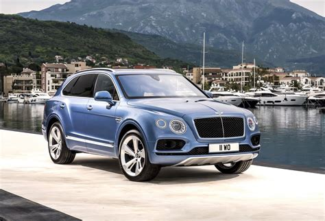 bentley bentayga bentley bentayga diesel revealed gets tri turbo v8