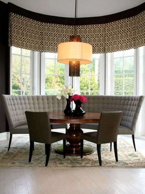 round table banquette best 20 curved bench ideas on pinterest