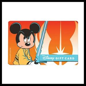 Star Wars Gift Cards - your wdw store disney collectible gift card star wars 2015 jedi mickey