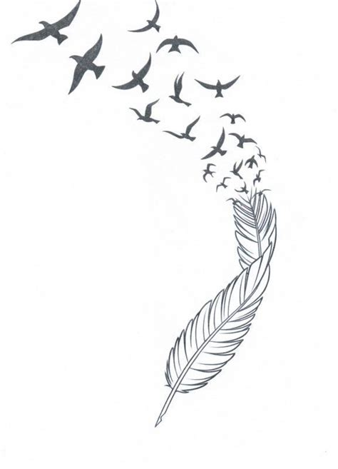 tattoo feather into birds meaning best 25 feather bird tattoos ideas on pinterest feather