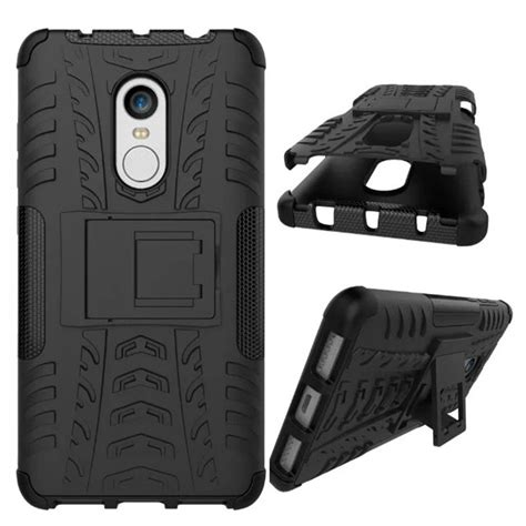 Xiaomi Redmi Note 4 4x Armor Stand Bumper Soft Cas Diskon shockproof armor for xiaomi redmi note 4 silicon stand cover 5 5 quot protective phone
