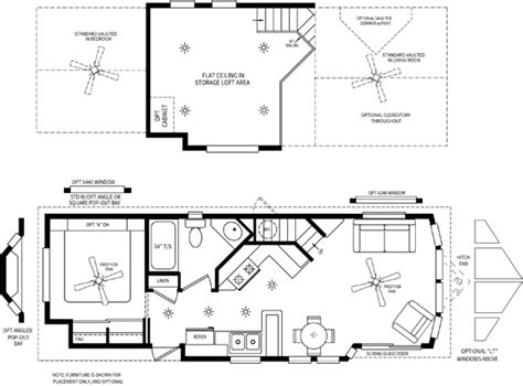 park model rv floor plans cabin loft rv s cavco park models