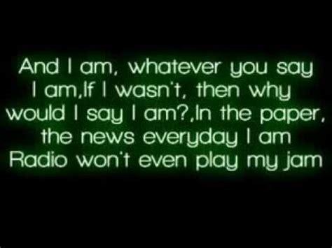eminem the way i am lyrics eminem the way i am lyrics youtube