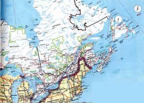 map eastern us and canada detailed map of canada and usa images frompo
