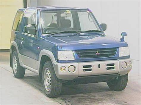 mitsubishi mini cost 1999 mitsubishi pajero mini h58a 4wd x for sale japanese