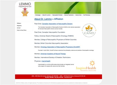 web design certificate vancouver lemmo integrated cancer care dimas yusuf