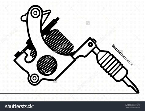 tattoo gun logo tattoo machine logo vector www pixshark com images