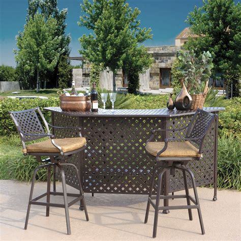 Patio Bar Accessories Make Your Lawn By Patio Bar Set Carehomedecor