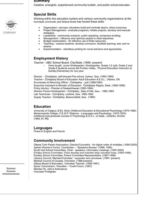 resume look like resume ideas