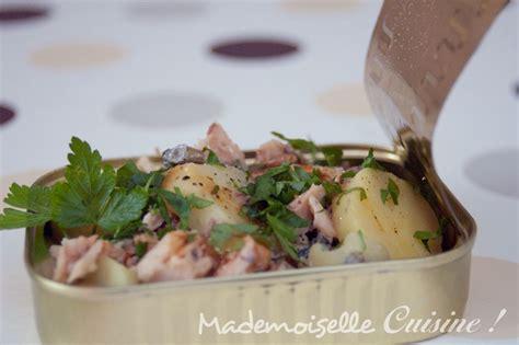 cuisine pomme de terre salade pomme de terre sardine recette de cuisine