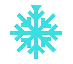 Simple Snowflake Template 15 free snowflake template free printable word pdf