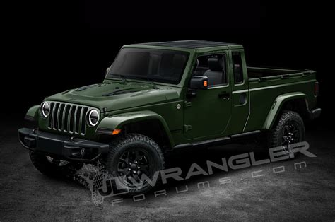 Jeeps New Truck by Will The Jeep Wrangler Look Like This Motor Trend
