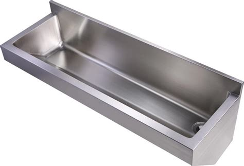 stainless steel wall mount commercial sink whitehaus stainless steel wall mount commercial utility