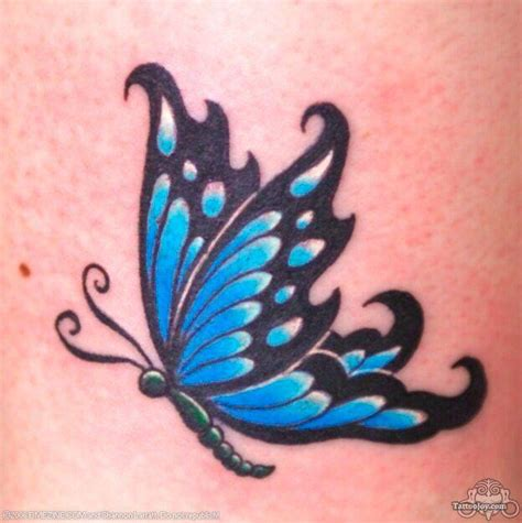 small black butterfly tattoos butterfly tattoos and designs page 249