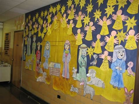 printable nativity scene for bulletin board 14 best my classroom displays images on pinterest