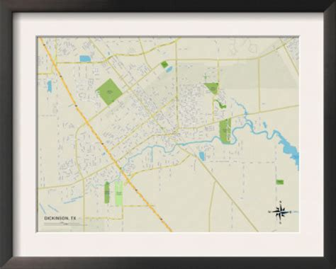 map of dickinson texas dickinson tx pictures posters news and on your pursuit hobbies interests and worries