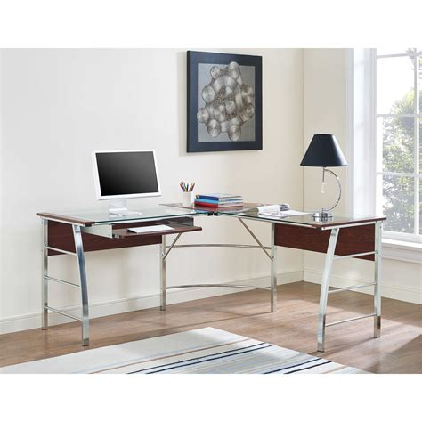 All Modern Desks Furniture Cool Whalen Desk With A Simple Profile And Generous Work Surface Izzalebanon