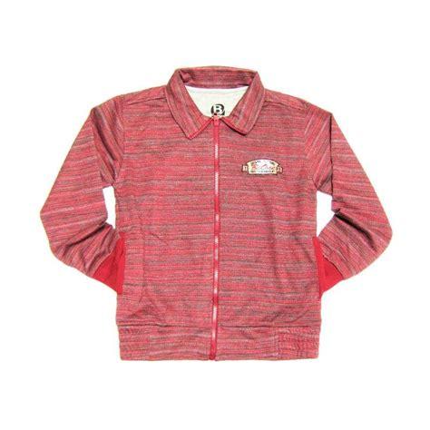 Jaket Anak Laki Laki Sweater Anak Murah Fleece Gaul Bagus jual b1 salur jaket anak laki laki maroon harga kualitas terjamin blibli
