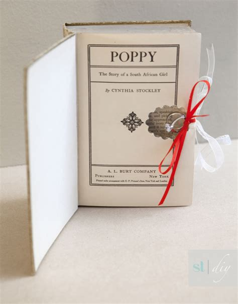 with this ring books learn how to make this diy ring bearer book