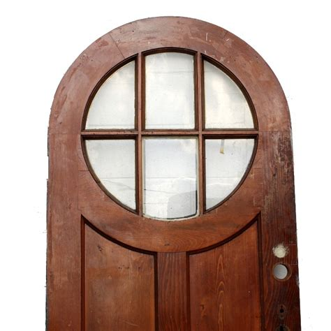 Antique Exterior Doors For Sale Antique Exterior 36 Arched Door With Divided Beveled Glass Window Ned132 Rw For Sale Antiques