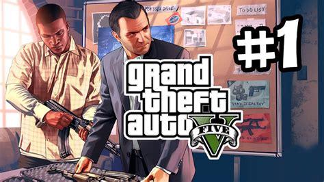 grand theft auto 5 gameplay walkthrough part 1 gta 5 walkthrough part 1 trevor michael youtube